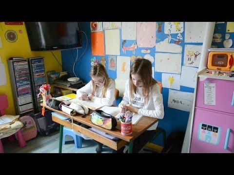 Notre routine école à la maison