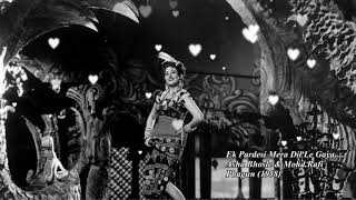 Ek Pardesi Mera Dil Le Gaya - Asha Bhosle & Mohd Rafi - Phagun 1958