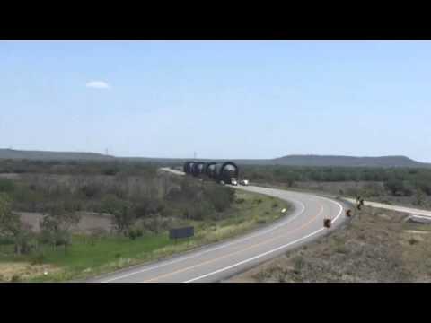 A vuelta de rueda avanzan las calderas rumbo a la refinería de Tula