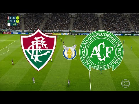 FLUMINENSE X CHAPECOENSE - BRASILEIRÃO 2019 - 28ª RODADA - 26/10/2019 - PES 2020