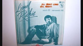 Lionel Richie - All night long (all night) (1983 Instrumental)