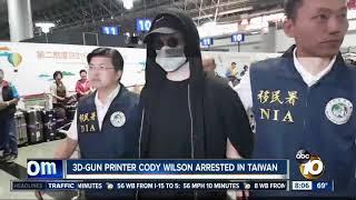 3D-gun printer Cody Wilson arrested in Taiwan