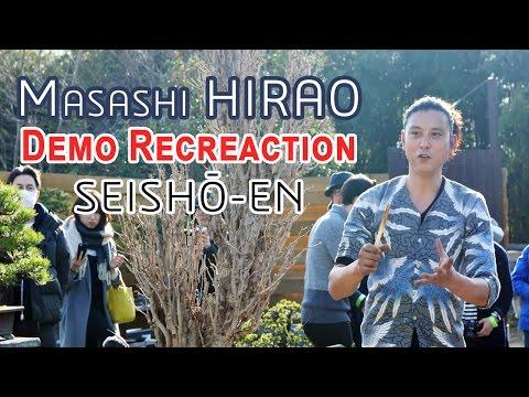 Masahi Hirao - Rempotage au Seisho-en 🌳🌺