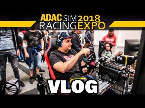 ADAC Sim Racing Expo 2018 (Nürburgring) VLOG – Motion Seat, Blancpain GT Series, Dookie & Dner