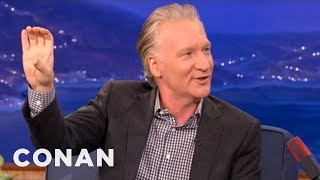 Bill Maher On Mitt Romney And Youthful Stupidity - CONAN on TBS