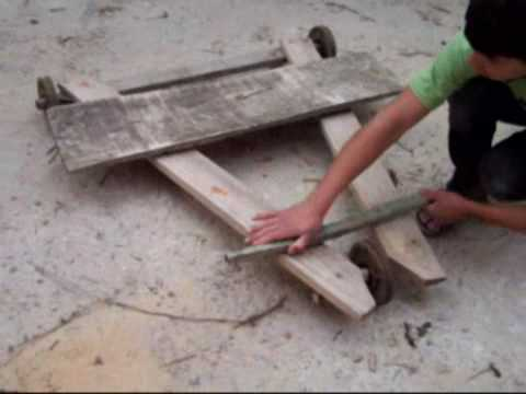 Como hacer un kart doovi for Como construir piletas de material