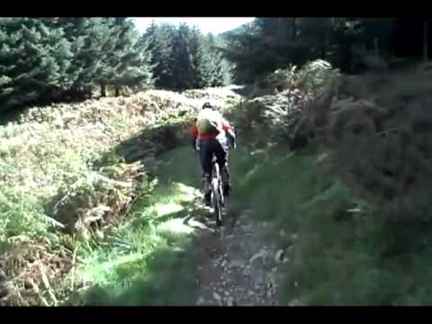 Glentress Black XC trail