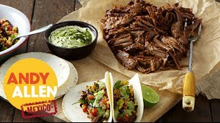 How To | Slow Roasted Beef Brisket Soft Tacos By Andy Allen