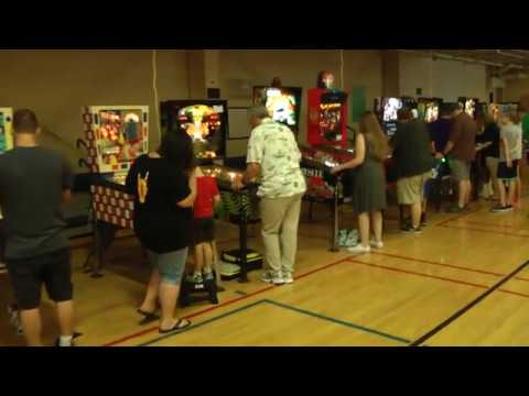 Saratoga Pinball Show 2017 - Video Tour