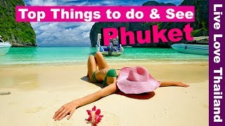 Top things to do & see in Phuket - Phuket travel guide & Tips 2019 #livelovethailand