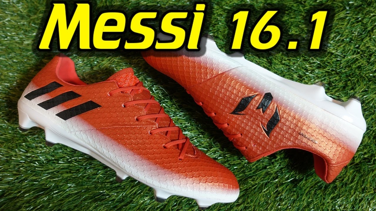 Buena suerte Iniciar sesión hasta ahora  Adidas Messi 16.1 (Red Limit Pack) - Review + On Feet - YouTube