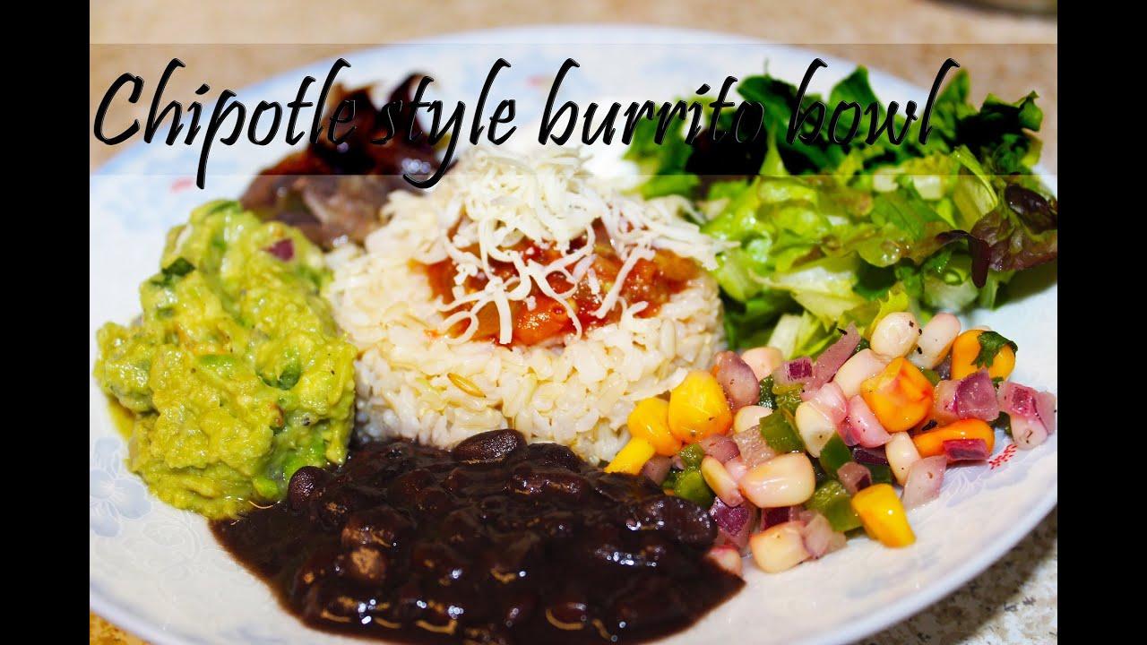 Chipotle style burrito bowl veggie burrito bowl youtube forumfinder Gallery