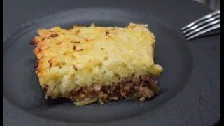 Мясная запеканка с картофелем фаршем и сыром рецепт Shorts