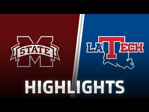 Highlights: Mississippi State at LA Tech