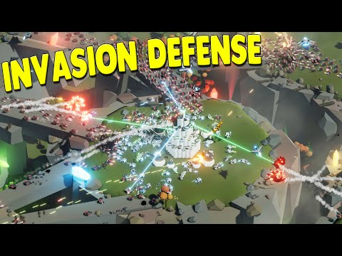 TAUR - NEW Full-Scale Military Invasion Defense Base Building Strategy Gameplay