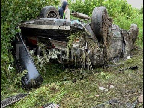 «Тойота Краун» с несовершеннолетними разбилась в Хабаровском районе. Mestoprotv