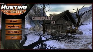Walkthrough Gameplay Part#1| Hunting Unlimited 2013
