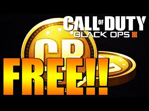 YOU GET 200 COD POINTS FOR FREE! - Black Ops 3 Call of Duty Points Update