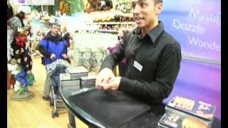 Amazing Card Trick! Performed at Hamleys Toy Shop in London - Hotels.tv - Hotels.tv