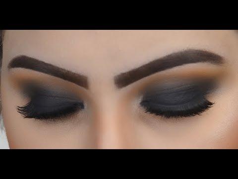 Matte Smokey Eye Makeup Tutorial Urdu