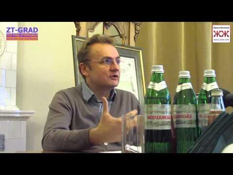 Андрій Садовий про транспорт Львова та Житомира