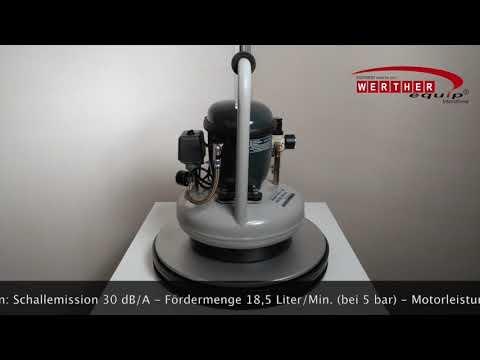 Sil-Air 30-6 / 30-9 Flüsterkompressor (silent compressor)