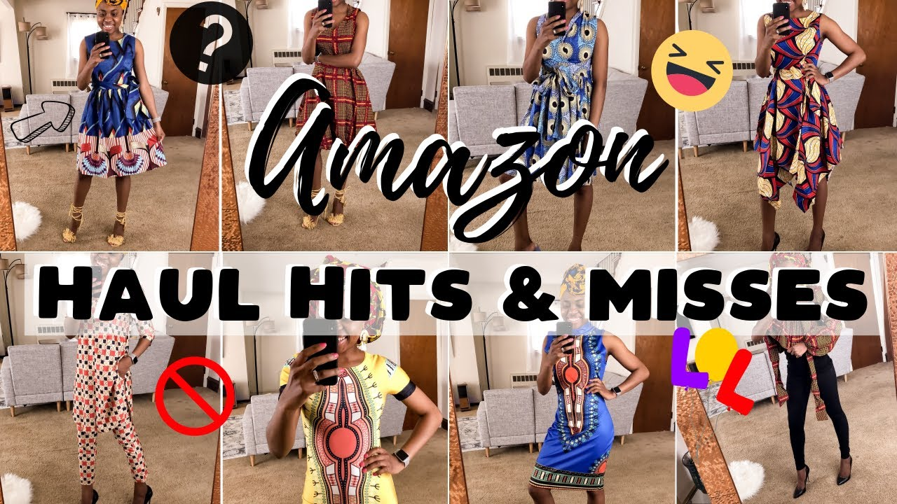 Amazon Haul: The Best Affordable African Print Clothes on Amazon