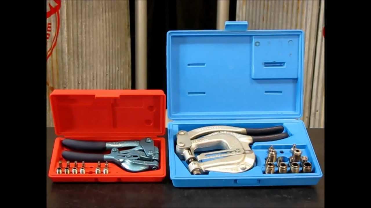 Roper Whitney 5 Jr Hand Punch Kit