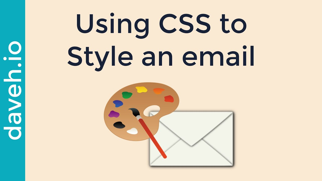 Add Styles to the HTML in an email using CSS and PHPMailer - YouTube