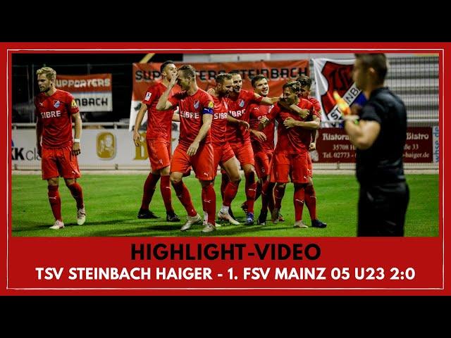 TSV Steinbach Haiger - 1.FSV Mainz 05 U23 2:0 (Regionalliga Südwest I #TSVM05 )