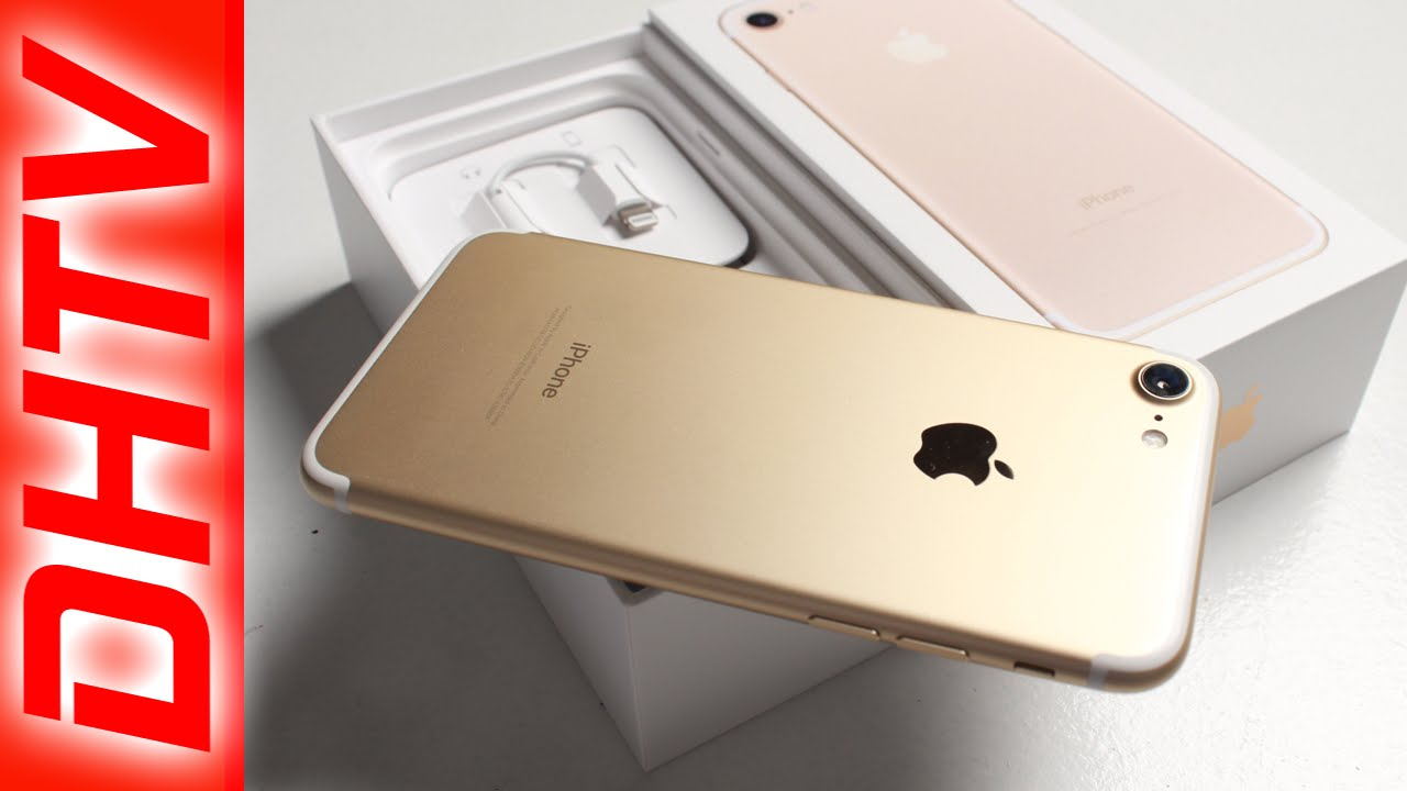 unboxing iphone 7 gold vs iphone 6s physical features and accessories youtube. Black Bedroom Furniture Sets. Home Design Ideas