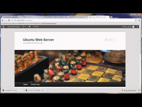Cms wordpress linux