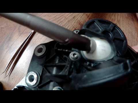 Реставрация кулисы КПП СDI MERCEDES Sprinter 1995-2006(замена втулки)