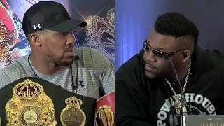 ANTHONY JOSHUA & JARRELL MILLER ROAST EACH OTHER IN LONDON PRESS CONFERENCE - FULL VIDEO