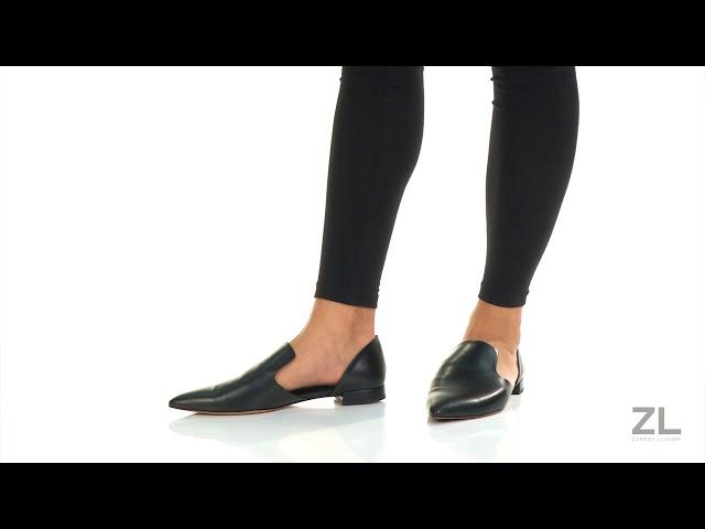 vince damris leather flats cheap online
