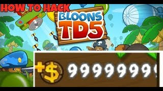 How to Hack/Mod Bloons Tower Defence 5 tutorial!!!