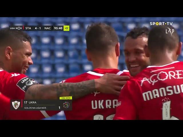 Goal | Golo Ukra: Santa Clara (5)-1 CD Nacional (Liga 20/21 #26)
