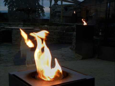 feuerstellen f r g rten terrassen meer fuego gasfackeln alfra ethanolfeuer inside out. Black Bedroom Furniture Sets. Home Design Ideas