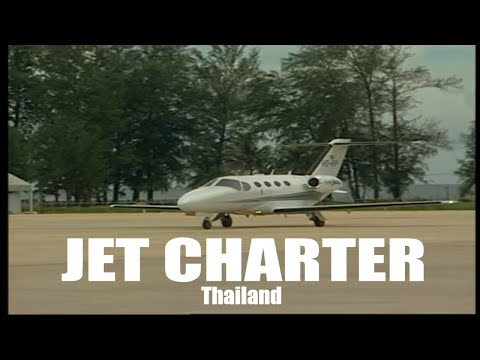 VIP Jets for charter in Thailand