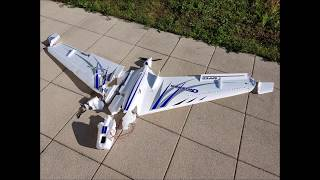 How to dismantle an Opterra Wing - Opterra crash - FPV CRASH