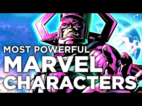 10 Most Powerful Marvel Comic Characters