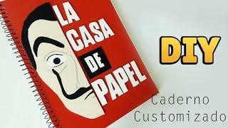 DIY: Como Fazer um Caderno LA CASA DE PAPEL #diyseriados  | Ideias Personalizadas - DIY