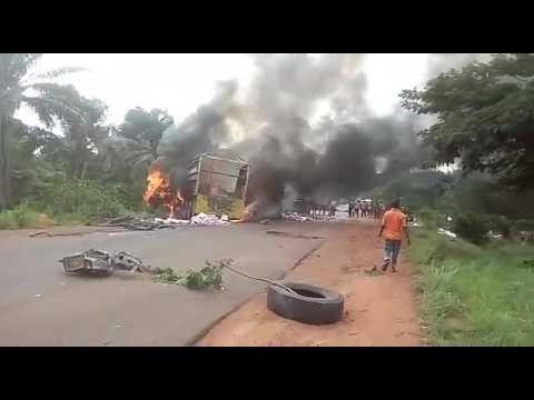 Accident in Nsukka Enugu road