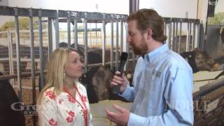 Cattle Chat Corner with Becca Lasich at NCBA 2014