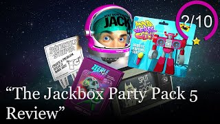 The Jackbox Party Pack 5 Review [PS4, Switch, Xbox One, & PC] (Video Game Video Review)