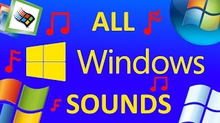 Download ALL MICROSOFT WINDOWS SOUNDS [WINDOWS 1-10] Mp3 and Videos