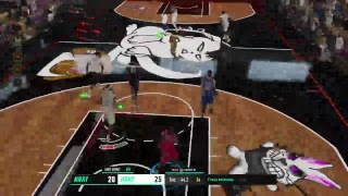 NBA LIVE 19   court Battle