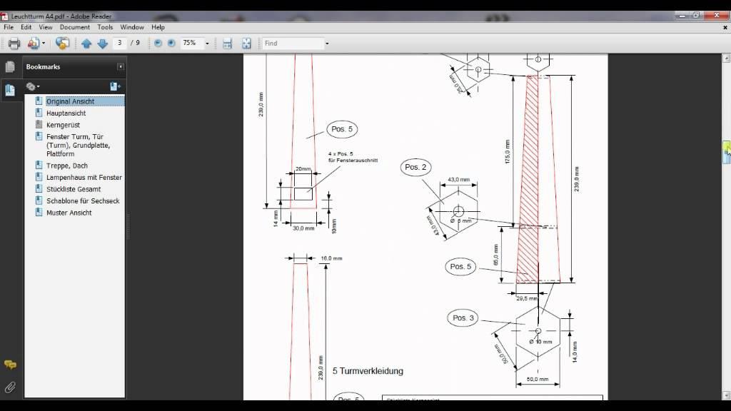 Bauplan Terrassenuberdachung Pdf ~ Bauplan für leuchtturm holz youtube