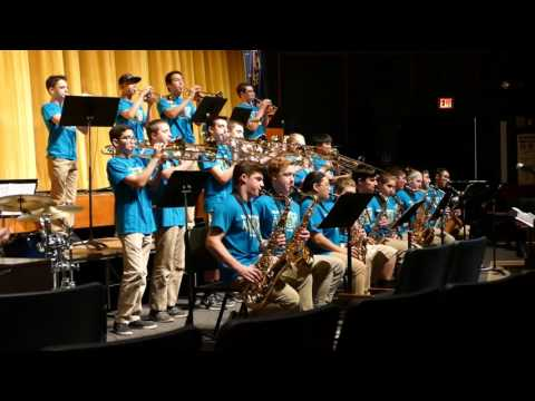 Caravan performed by Muhlenberg Middle School 'Blue Groove'