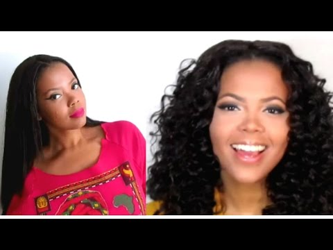 Crochet Braids Old School : Crochet Braids From Straight to CURLY (NO HOT WATER/NO DIPPING) 100% ...